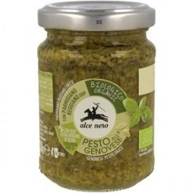 Pesto z bazylią bio 130 g