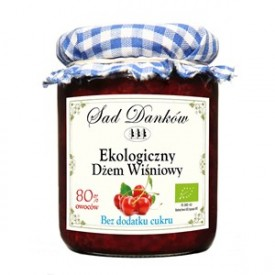 Dżem wiśniowy bez cukru bio...