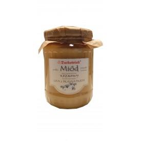Miód lipowo - bławatkowy 900 g
