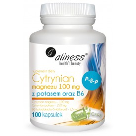 Cytrynian magezu 100 mg,...